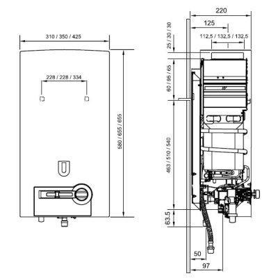 Газова колонка Bosch Therm 4000 O WR 13-2 P P